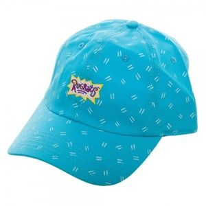 Rugrats Adult Dad Style Hat Nickelodeon Blue 90's